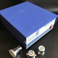 40 khz/100 khz 1200 w 이중 주파수 초음파 발생기  초음파 발생기 도식