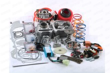 50cc Cylinder Kit Performance Cam CDI Coil Variator Carburetor GY6 139QMB 39mm
