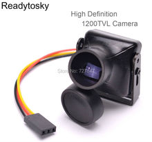Высокое разрешение 1200TVL COMS Камера 2,8 мм объектив PAL FPV Камера для FPV RC Drone Quadcopter ZMR250