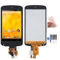 Новый Для LG Google Nexus 4 E960 Сенсорный ЖК-Экран с Digitizer Ассамблеи + Бесплатные инструменты и клей. Бесплатная доставка!!!