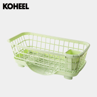 Kitchen Hutch Drainboard Shelf Plastic Tableware Tableware Storage Rack Shelf Storage Box Cupboard