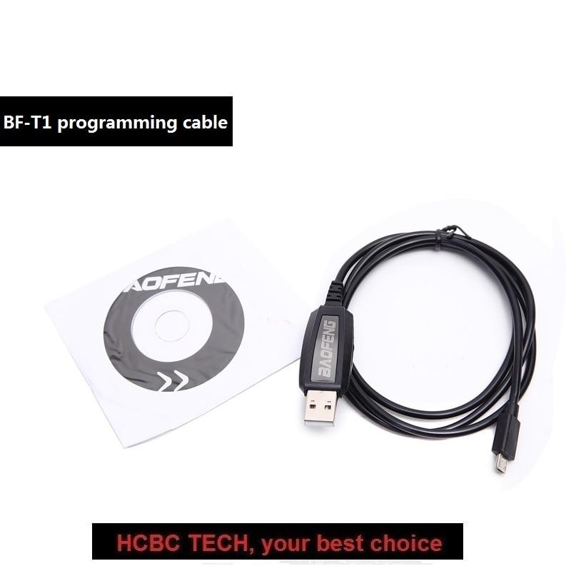 USB Câble de Programmation pour BF-T1 Mini Radio Jambon Émetteur-Récepteur Portable Radio Bidirectionnelle