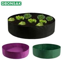 Овощной круглый посадочный контейнер кармашки для выращивания растений дышащая фетровая ткань горшок для растений горшок для рассады товары для домашнего сада