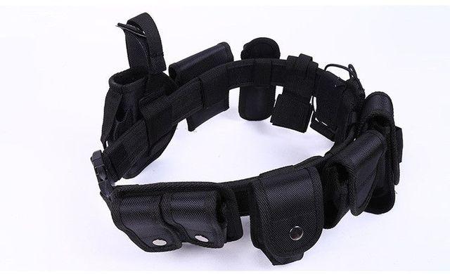 10 EN 1 de La Correa Táctica Militar Del Ejército de Fans cosplay Cinturón Espesar Nylon cinturón de seguridad con bolsas de Aire Libre de Múltiples funciones cinturón 90305