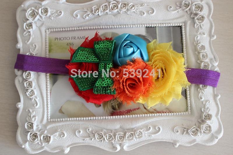 kids girl nylon flower headband (19)