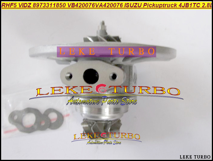 Turbo Cartridge CHRA Core RHF5 VIDZ 8973311850 VA420076 VB420076 1118010-802 For ISUZU Pickup truck 4JB1TC 4JB1-TC 4JB1T 2.8L turbo cartridge chra core gt1752s 733952 733952 5001s 733952 0001 28200 4a101 28201 4a101 for kia sorento d4cb 2 5l crdi