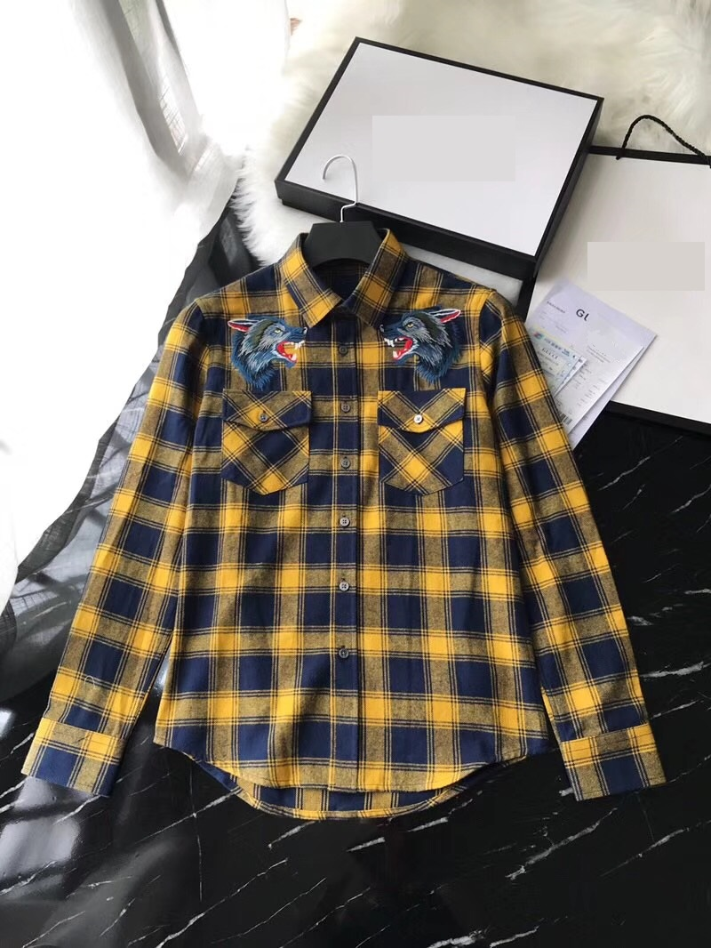 WZ101228BA Quality 2017 Hot sale Men Fashion Brand Spring Summer style shirt New Design Men's shirts Tops Free Shipping