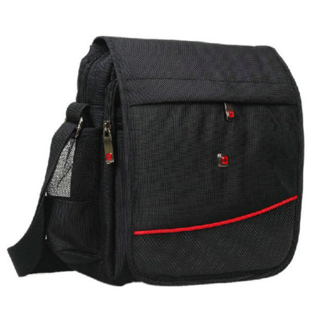 Swissgear Crossbody Bags Messenger Bag Fashion Two Style High Quality Men S Bussiness Red Cross