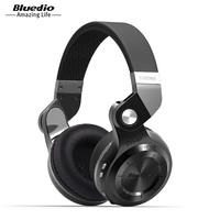 Bluedio T2S Wireless Foldable Bluetooth Earphones Black