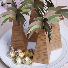BXLYY New Creative Palm Tree Candy Box DIYGifts for The New Year Candy Box Wedding Gift 5pc Package Wedding Decor Baby Shower.8z