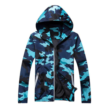 Plus Size 5XL Spring Autumn Jacket Mens Casual Camouflage Hoodie Jackets And Coats Clothes Men's Windbreaker Coat Male Outwear