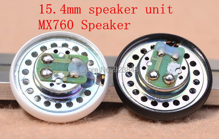 MX760 unit high-resolution 15.4MM DIY headphone speaker Bass