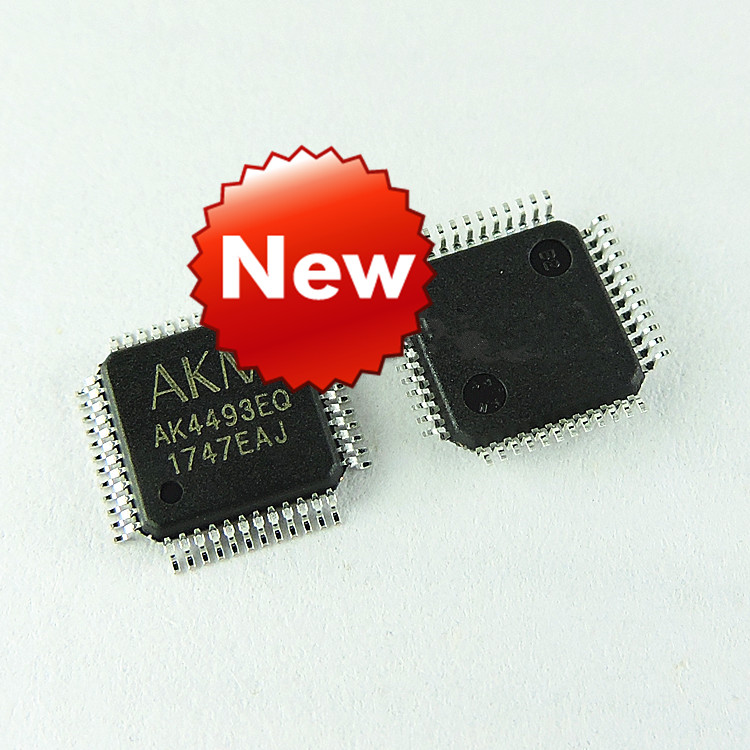 NEW original 100% AK4493EQ AK4493 QFP 10pcs 100%new kb3926qf d2 kb3926qf qfp