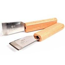 Diy резной кожаный нож Лопата shucking ножи