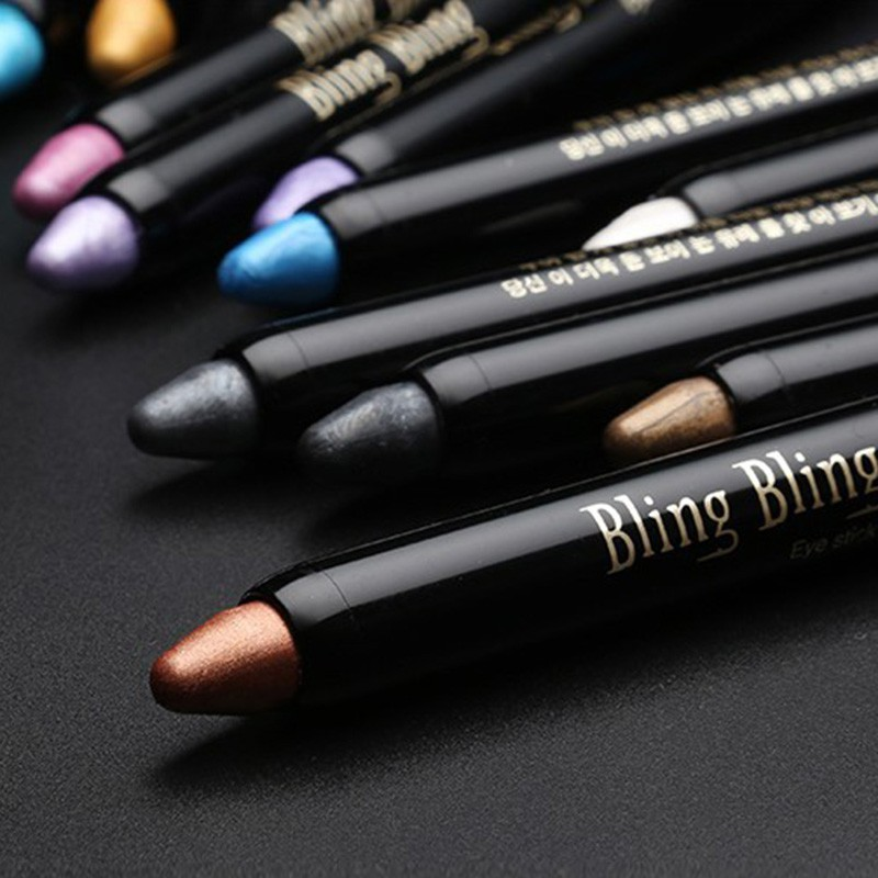Eye Shadow Stick 1pc Women Highlighter Eyeshadow Pencil Cosmetic Glitter Eye Shadow Pen Hot Sale цена