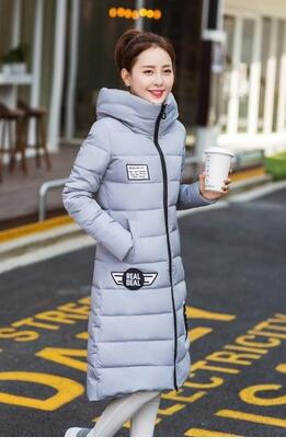 ФОТО New cultivate one's morality leisure cotton-padded jacket winter coat long big yards thickening eiderdown cotton dress
