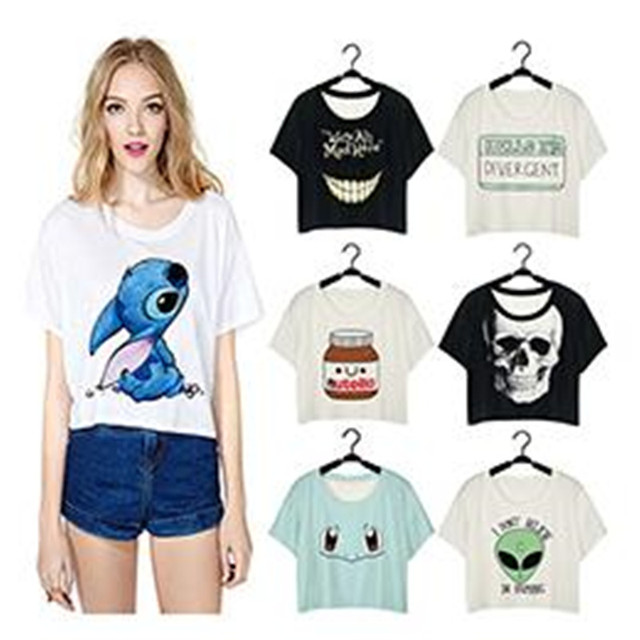 3 D print T-shirt Alice in Wonderland Cheshire Cat T Shirt Black We Are Mad Here Short Sleeve Fashion Tee Summer Vest Tops