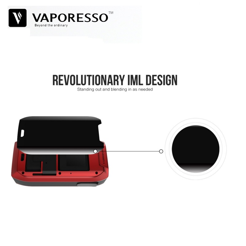 Original Vaporesso Revenger X 220W TC Box Mod Vaporizer Fit for NRG Tank  18650 Battery VS Vgod Voopoo Drag E-Cigarette Vape Mods