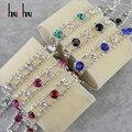 Mulher na moda moda pulseira indianas pulseira 6 cores pulseiras pulseiras indiano femme branco banhado a ouro jóias