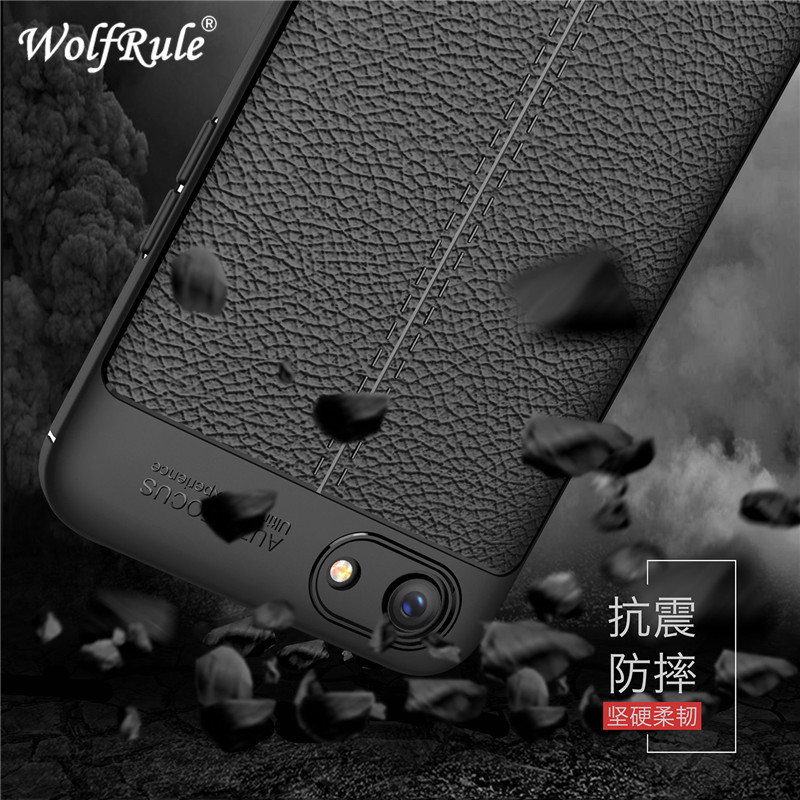 """WolfRule OPPO A83 Case OPPO A 83 Cover Shockproof Luxury Leather Soft TPU Case For OPPO A83 Funda Phone Shell 5.7"""" ]"""