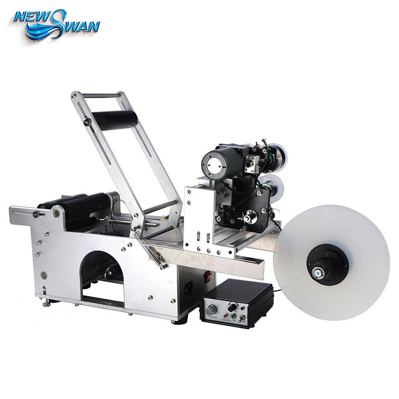Original LT50D 25mm 150mm Sticker Printer Code The Non-drying Label Printer Semi-automatic Round Bottle Sticker Labeling Machine the original 2mbi200l 060 code package machine disassemble