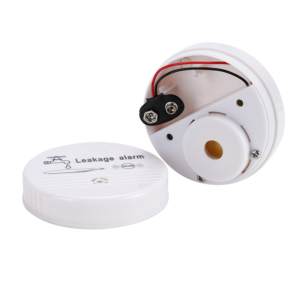 Wireless Water Leak Detector Intrusion Detector for Home Security ABS Alarm System Flood Water leakage Sensor