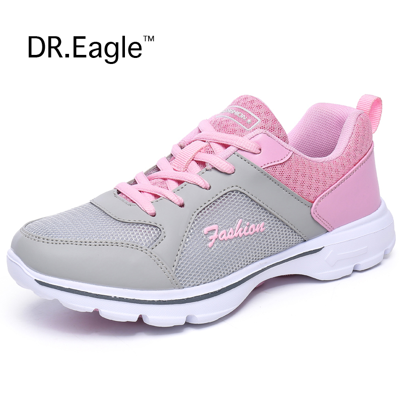 Women Running Shoes Light Sneakers Summer Breathable Mesh ...