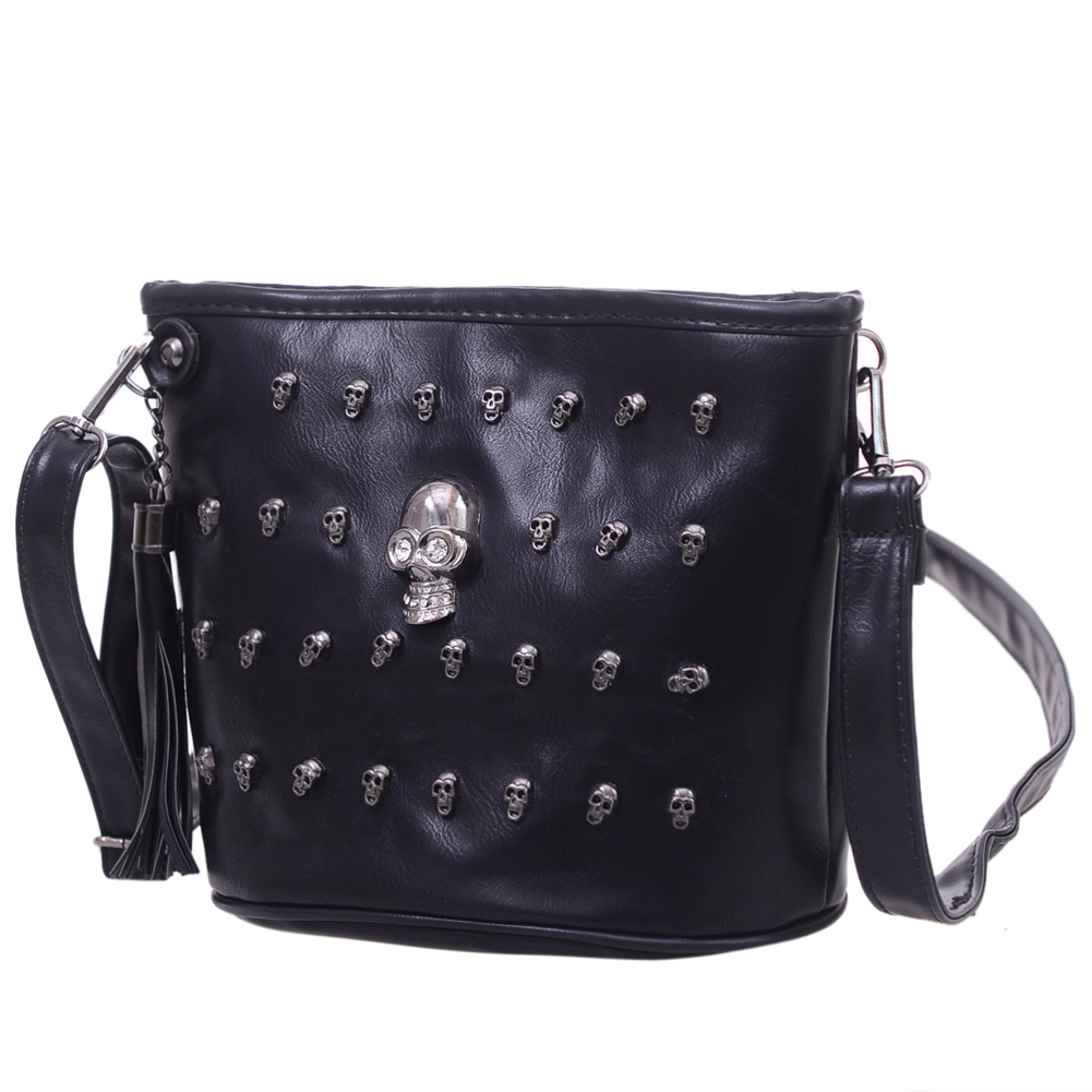Skull Design Women  Shoulder Bags  1