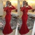 С длинным рукавом платье серого кружева аппликации тонкий русалка платье сексуальная side-щелевая бисероплетение вечернее платье платья партии