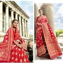 India Sarees Tradition Woman Ethnic Styles Embroidery Sarees Beautiful Dance Costume Lady Long Comfortable Dress