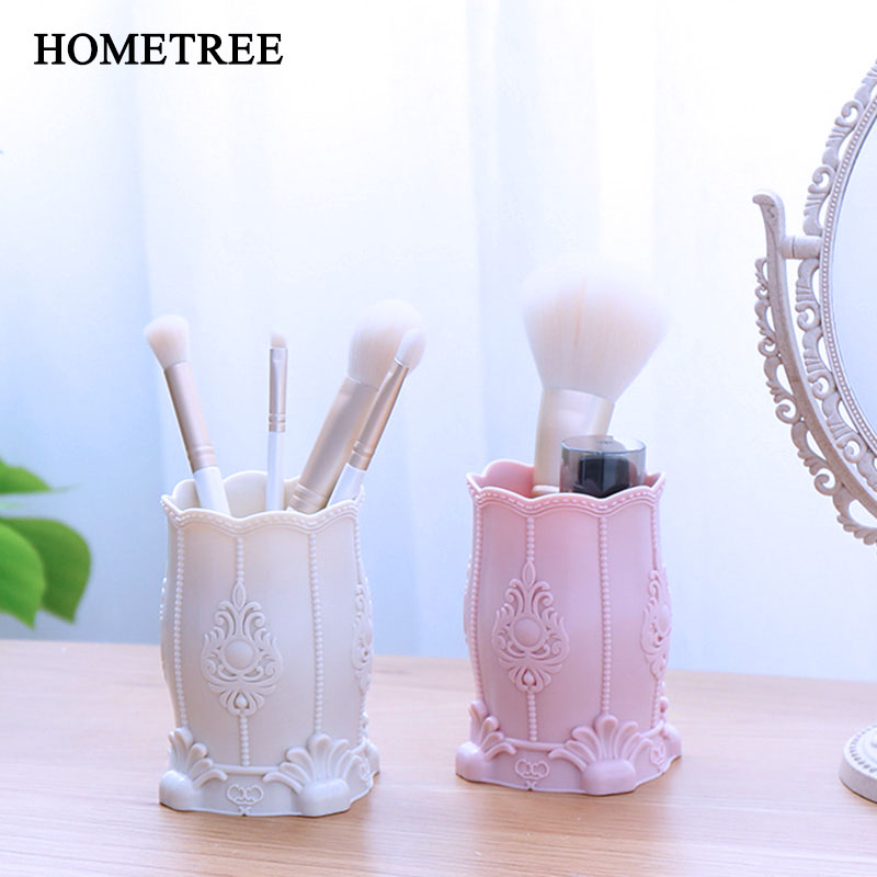 HOMETREE Eyebrow Pencil Box Desktop Makeup Organize Storage Box Cosmetic Case Remote Control Holder Small Object Container H439