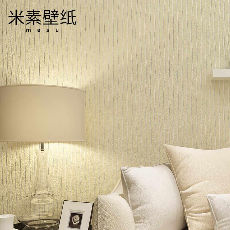 2017 настоящие фото обои Papier Peint M-спальня нетканые полосы простые современные простые обои, фон 3d стерео Yaxi