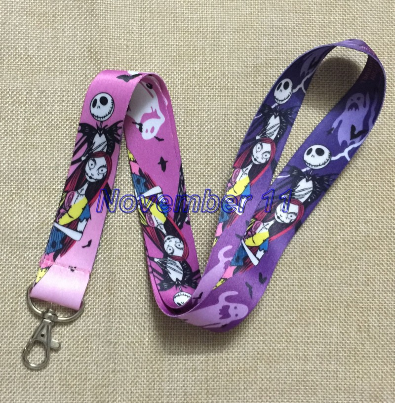 Lot 50Pcs Nightmare Before Christmas Cell Phone Lanyards MP3 Strap Lanyards NECK Lanyard Charm WW312