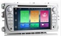 7' ips 4G четырехъядерный 2din Android 8,1 Автомобильный DVD Радио для Ford Mondeo C max S max Wifi 3g gps навигация Bluetooth USB сенсорный экран