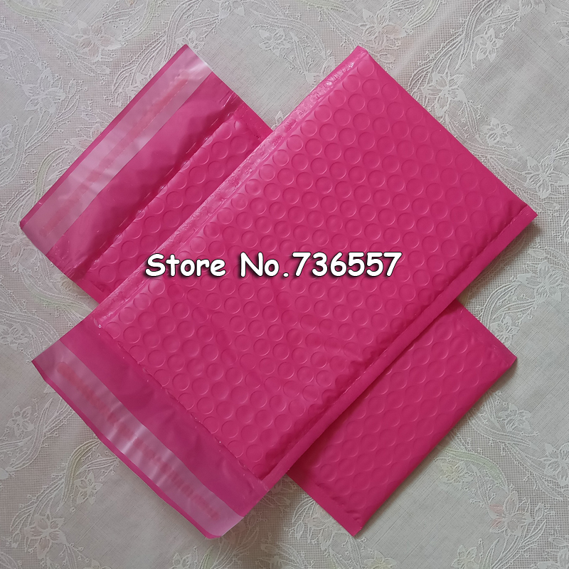 5pcs 10pcs New Pink Poly Bubble Mailer Padded Mailing Envelope Self Sealing Bubbles Evenlopes 5*9 Inch 5*7 Inch