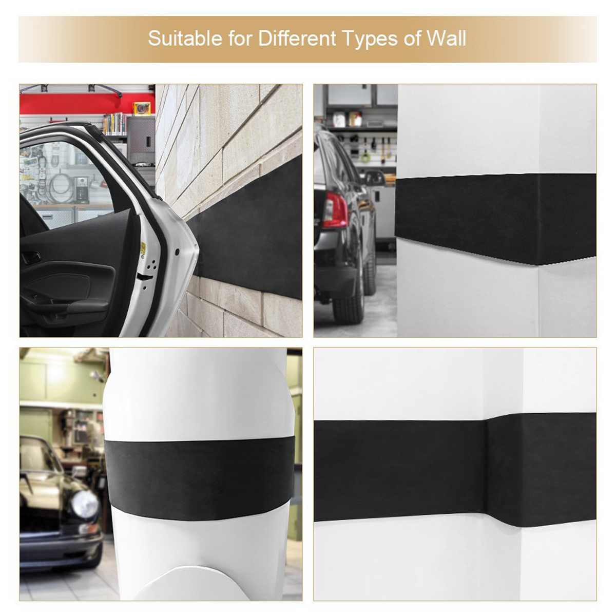 Asdomo Universal Thermostatic leather edge Car Seat Protector Breathable Non-Slip Car Front Seat Cover Cushion