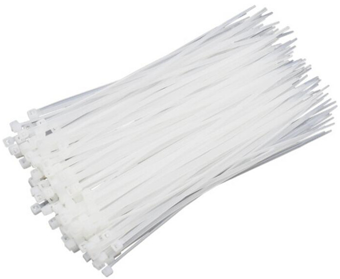 100PCS 3 X 60/80/100/120/150/200mm white Milk Cable Wire Zip Ties Self Locking Nylon Cable Tie 100pcs 3 100 3 120 3 150 3 200 white black milk cable wire zip ties self locking 5 250 nylon cable tie 3x100mm 3x150mm 3x200mm