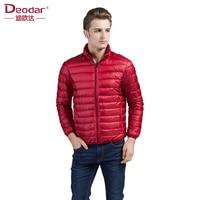 Deodar 2019 Men Ultra Light Down Feather Jacket Coat Men Winter Fashion Origin Design Down Coats Men's Down Coat Parkas