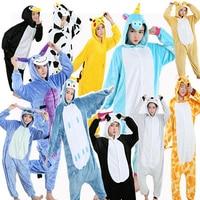 Kigurumi Onesie Cosplay Unisex Adult Holiday Festival Big Size Pajama Animal Cartoon Party Suit Overalls For