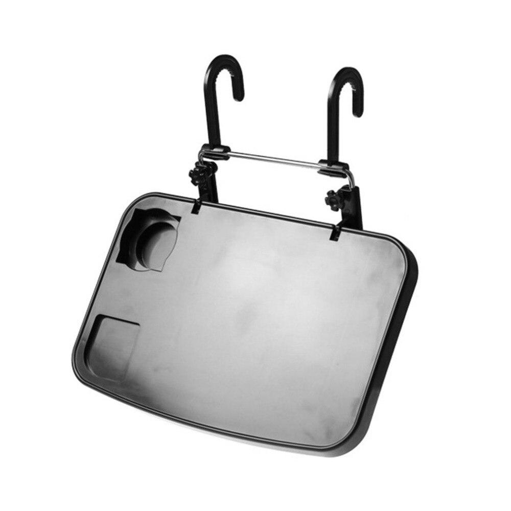Asiento de vehículo multifunción asiento de coche plegable asiento trasero de PC bandeja de montaje portátil mesa de escritorio de ordenador portátil soporte de taza de bebida para coche Moderno mantel de lino de algodón impermeable cuadrado para fiestas banquete mantel para exteriores de Color sólido