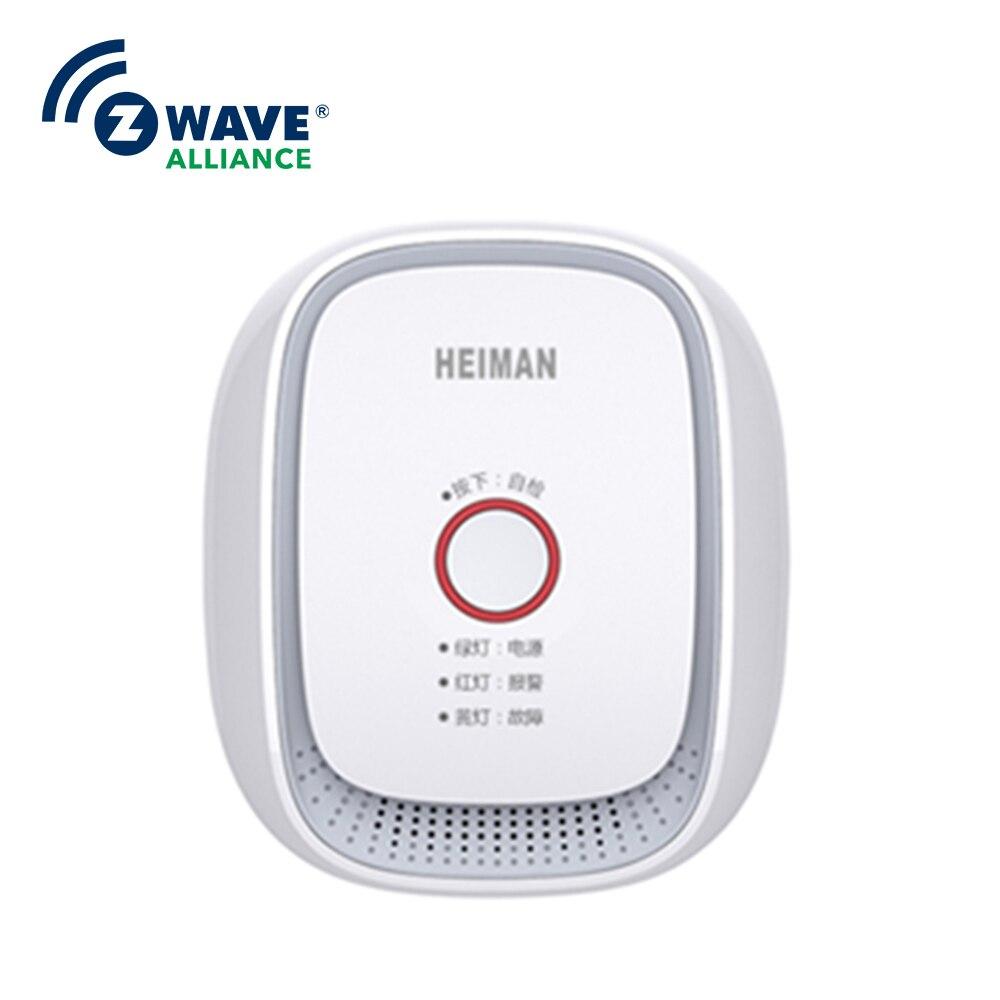 Système de détection de gaz CE/RoHS/FCC technologie domotique Zwave première alerte incendie détecteur de gaz Multi Portable