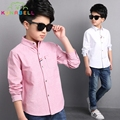 Big Boys Blouses Formal Long Sleeve Shirts For Boys Fashion Children Clothing Spring School Uniforms Kids Tops Clothes H026