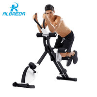 ALBREDA Многофункциональный бодибилдинг фитнес оборудование вертикального живот машина тренажерный зал дома упражнения мышцы живота