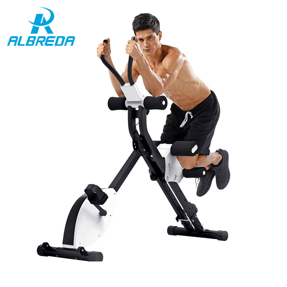 ALBREDA Multifunctional body-building fitness equipment ab roller Vertical Abdomen Machine Gym home Exercise abdominal muscles body building equipment gym equipment fitness equipment outdoor exercise equipment