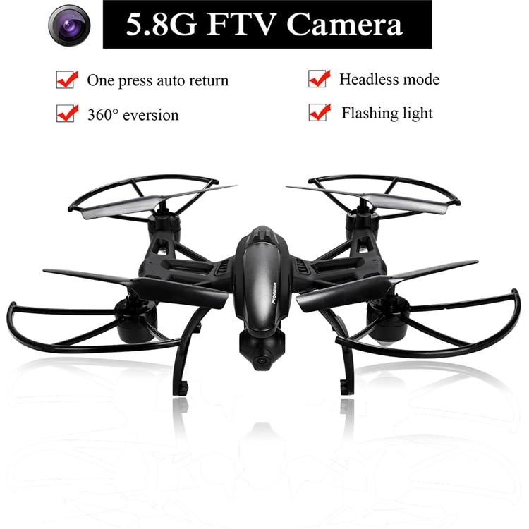 JXD 509G JXD509G 5.8G FPV 2.0MP HD Camera High Hold Mode RC Quadcopter Night Flight One key Return Headless Mode RC Drone
