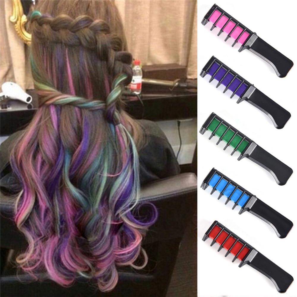 Where To Get Temporary Henna Tattoos Near Me: HOT Hair Dye Brush Hair Care Temporary Hair Dye Combs Semi