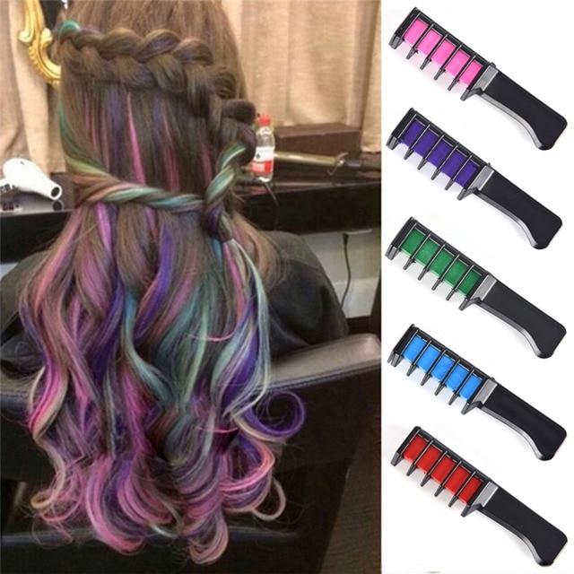Hair Dye Brush Hair Care Temporary Hair Dye Combs Semi Permanent ...