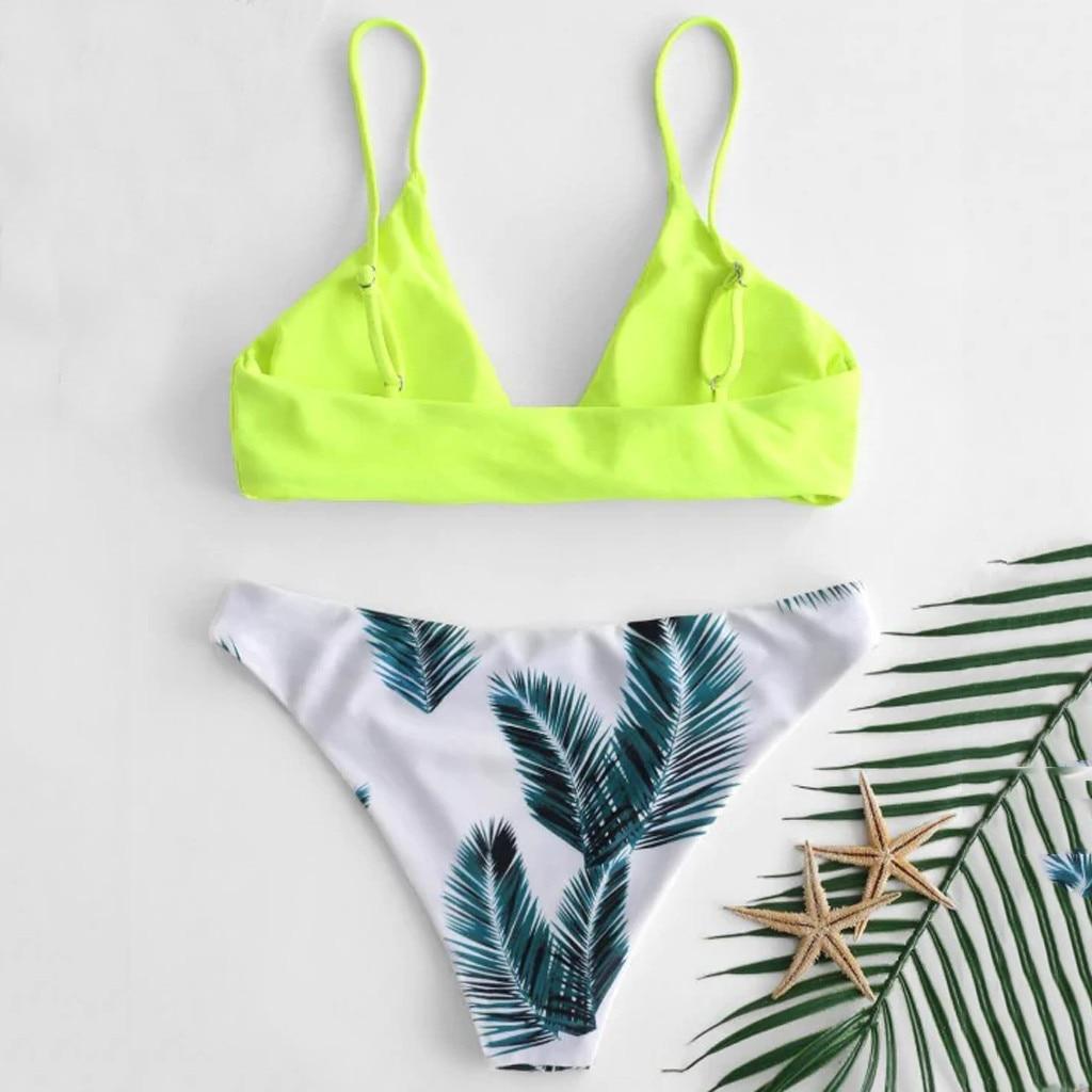 Bikini 2018 Hot Sale 2019 Women s swimming suit Women s Bikini Set Sexy Leaves For Bikini 2018 Hot Sale 2019 Women's swimming suit Women's Bikini Set Sexy Leaves For Rope Swimsuit Push-up Swimwear 2.0#