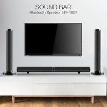 29681e16d3bead Dual Sound Bar Abbinabile Bluetooth Remote Home TV Del Computer Altoparlante  della Carta di TF Ottico