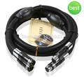 Choseal BB-5605 top class quality 6N OCC audiophile 24K gold-plated male and female XLR cable 1m  (pair)